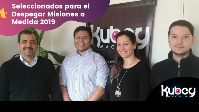 Kubey Machine seleccionada para el InvestBA 2019 thumbnail